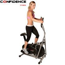 Confidence Fitness 2-in-1 Elliptical Trainer with Seat Price - $129.99