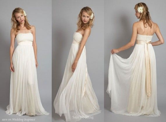 Grecian Goddess Wedding Dresses Picture 1 I WANT THIS DRESS
