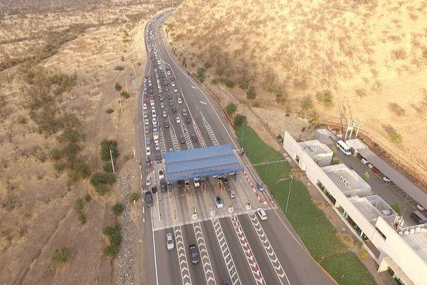 MOP presenta nueva propuesta de financiamiento del TAG en Autopista Nororiente de Chicureo.