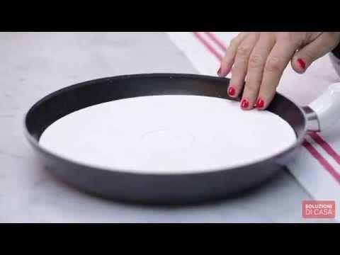 ▶ Come pulire le pentole antiaderenti - YouTube