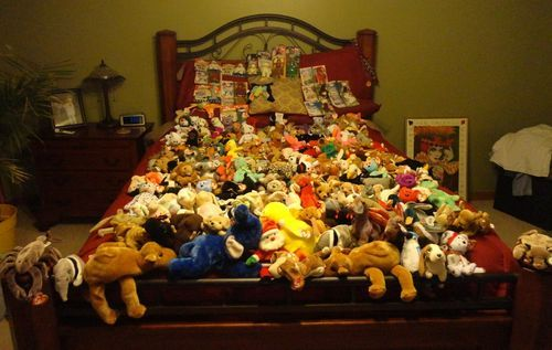 Ty Beenie Babies!! Huge Lot 202 Vintage Ty Beenie Babies & McDonalds Retired NIB Collector Special
