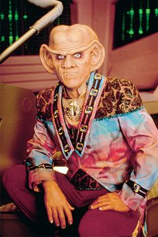 Quark, one of the most lovable hooligans they could have come up with