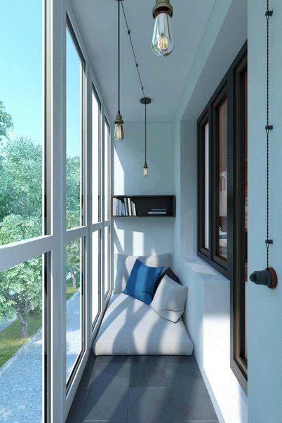 Идеи для балкона | 61 фотография