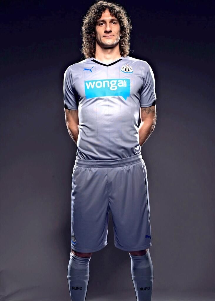 Newcastle United 2014-15 Puma Away (Fabricio Coloccini)
