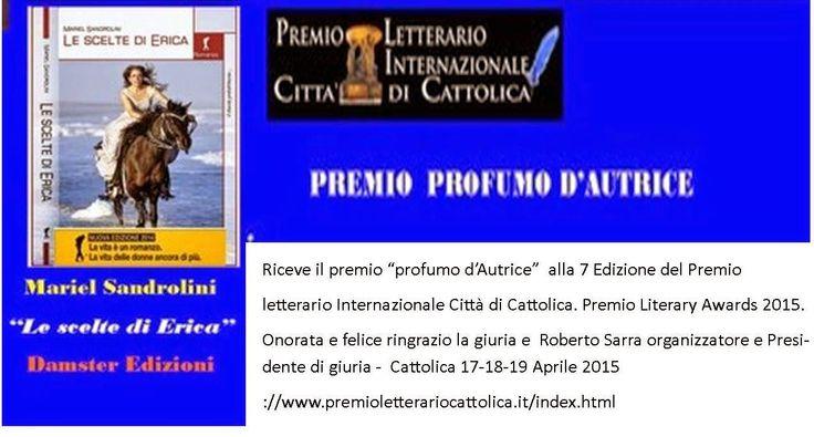 Mariel Sandrolini: premio Internazionale profumo d'autrice CITTA' DI ...