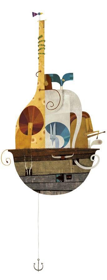 El arca de Noé / Iberoamérica ilustra on Illustration Served