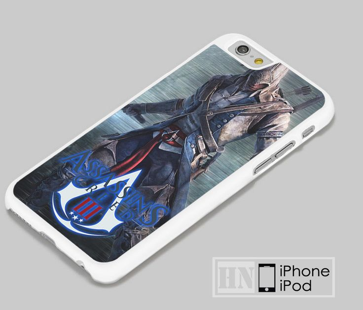 Assassin's Creed 3D Action Video Game iPhone iPod Cases, Samsung Cases, HTC one Cases, LG Cases
