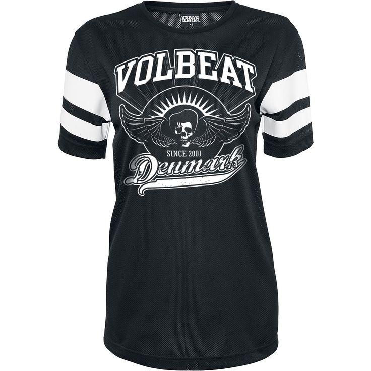Volbeat T-skjorte -Rise From Denmark- -- Kjøp nå hos EMP -- Mer Band merch T-skjorter tilgjengelig online - Uslagbare priser!