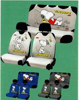 Snoopy and the Peanuts gang car accessories