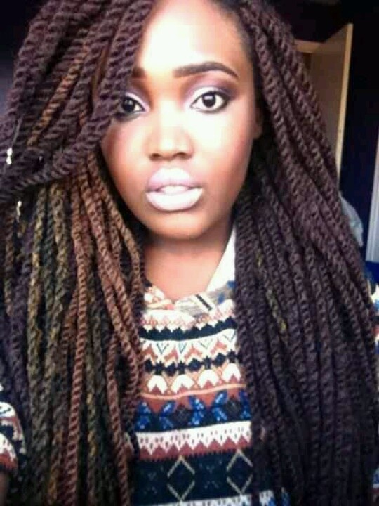 Admirable 1000 Images About Kinky Twists On Pinterest Protective Styles Short Hairstyles Gunalazisus