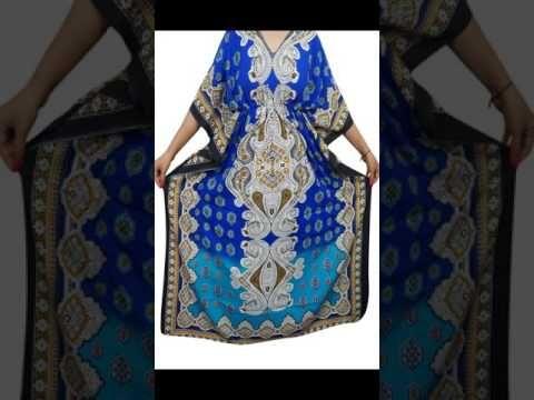 Women's Evening Wear Summer Kaftan Nighty