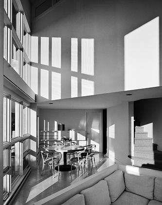 Hoffman house by Richard Meier