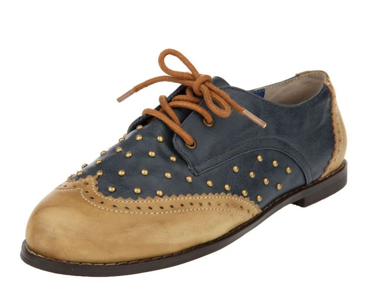studded oxfords!! Cute :)