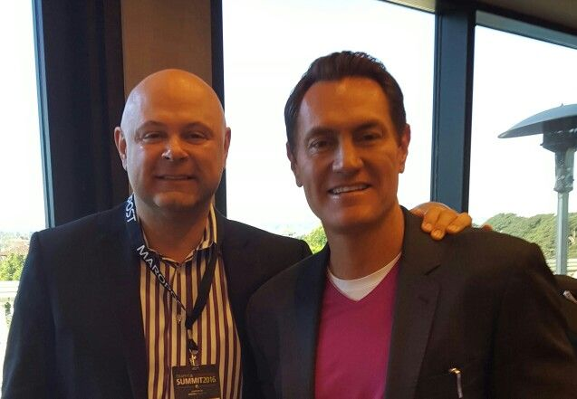 Always great to learn and network with the best.  #SuccessMagazine's Darren Hardy and I at #TCS2016 in #SanDiego. #ChangeYourResults