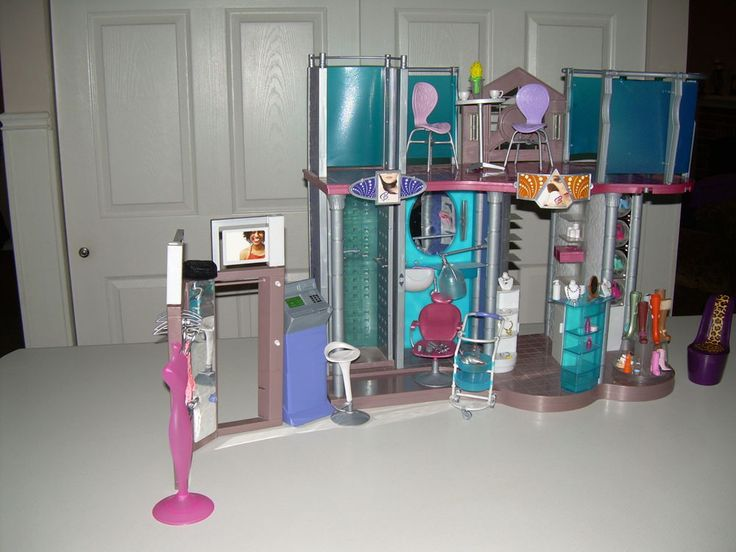 24 Best Images About Barbie Doll Play Sets On Pinterest Shopping Mall Barbie And Barbie Sets