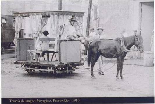 Tranvía de sangre, Mayagüez, Puerto Rico, 1910
