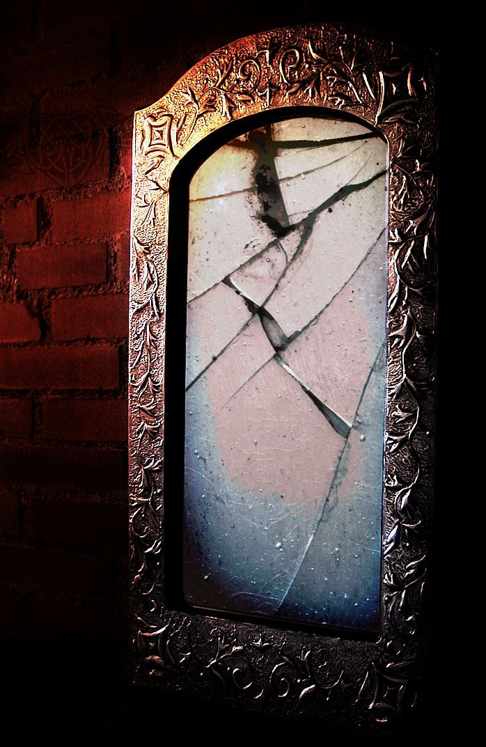 Vampires can see their reflections in a mirror but it is their true reflection. Decayed. While humans see the vampire reflection the same as he sees his own...