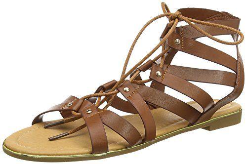 Dolcis Wyomie, Damen Gladiator Sandalen , Braun - Braun (Hellbraun) - Größe: 40.5 - http://on-line-kaufen.de/dolcis-3/40-5-eu-dolcis-wyomie-damen-gladiator-sandalen