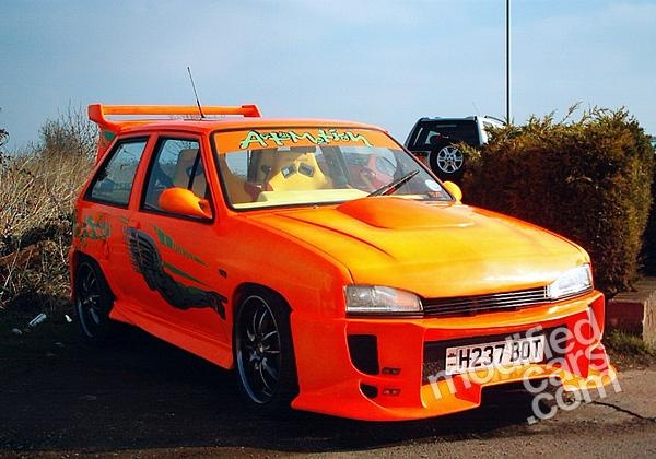 Modified Vauxhall Nova Gte 1990 Pictures I Wish I Could
