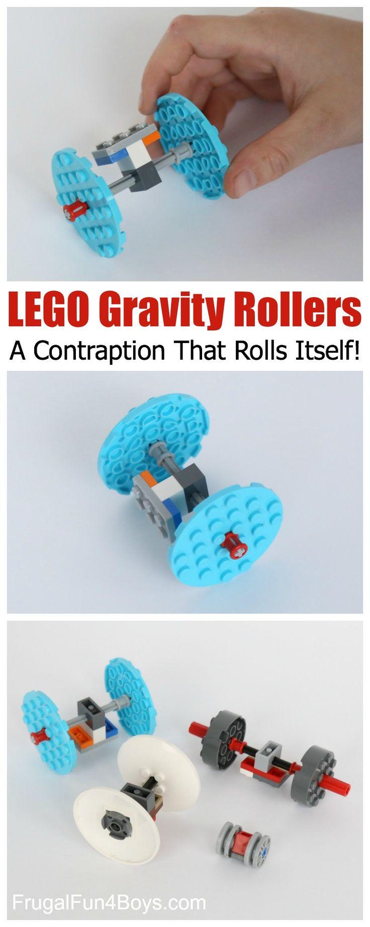 LEGO gravedad Rodillos: un artilugio que la propia Rolls!