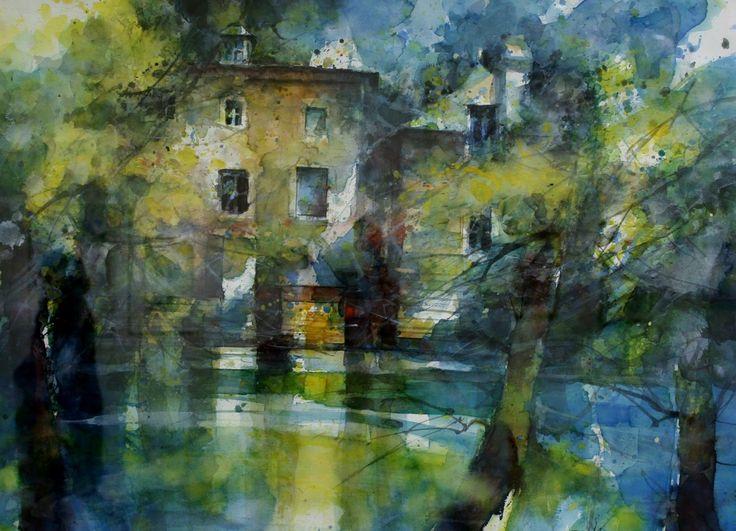 Eric Laurent #watercolor jd