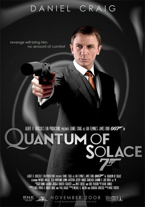 Quantum of Solace (2008) is the twenty-second James Bond film produced by Eon Productions, and is the direct sequel to the 2006 film Casino Royale.