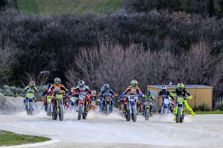 Vale & VR46 Academy,  Saturday training at MotoRanch