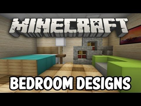 minecraft interior design bedroom edition
