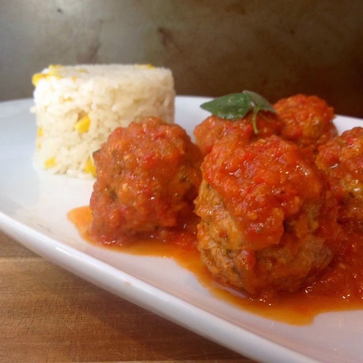17 best images about it 39 s time to cook beef on pinterest - Albondigas con verduras caseras ...