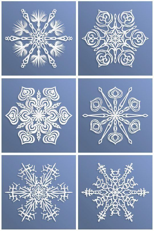 Look! An App That Makes Paper Snowflakes