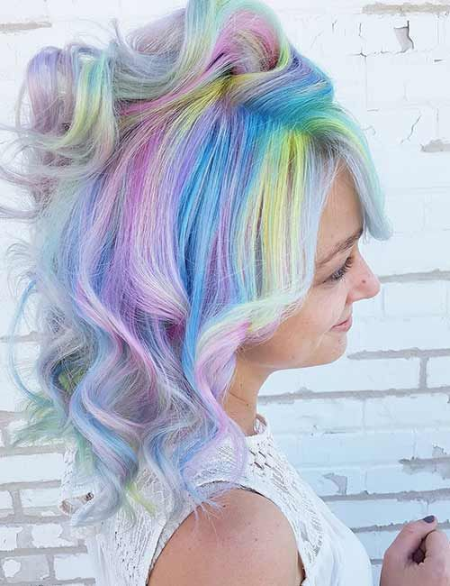 7 Luscious Cotton Candy Hair Color Unicorns 2019 Don T Miss My