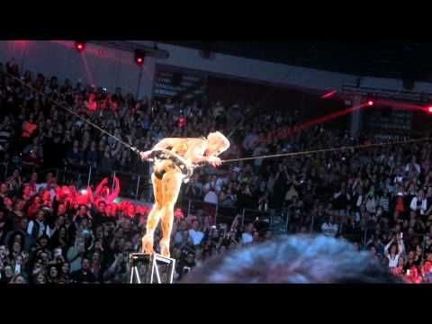 P!NK. So What!  10th July 2013 . Rod Laver Arena Melbourne Australia