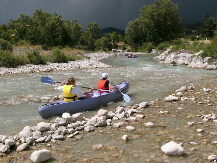Camping LE GLANDASSE à die drome, rivier en zwembad