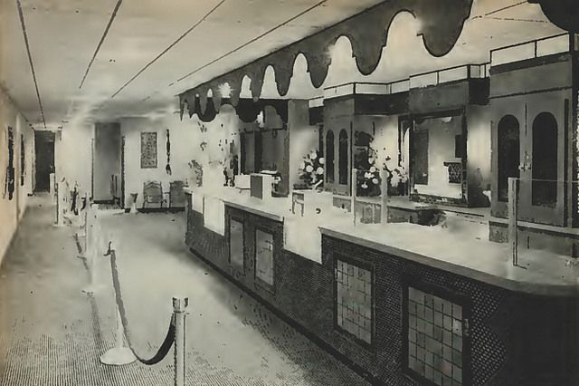 The Seville 4 was located in the Country Club Plaza just around the corner from the Plaza Theatre. The Seville 4 Theatre had a short life span as it was demolished in 1999 to make way for the much larger Cinemark Palace 14.