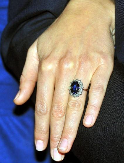 Kate's blue sapphire