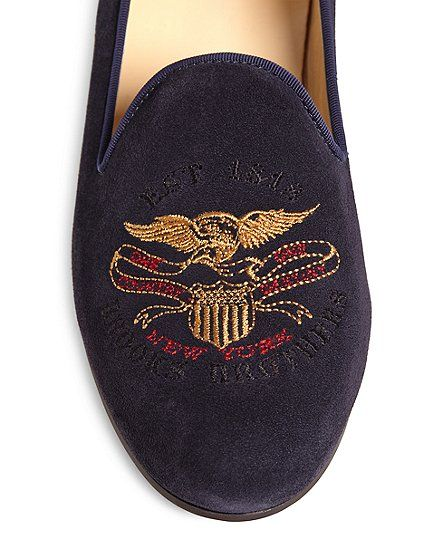 JP Crickets Brooks Brothers Eagle Shoes - Brooks Brothers