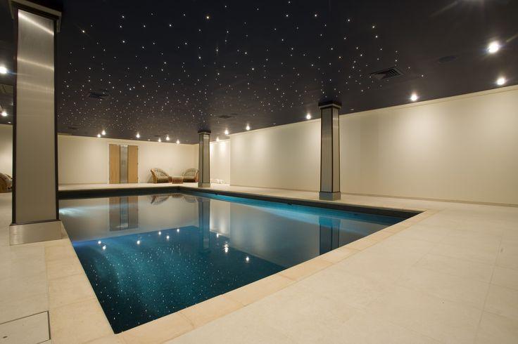 Temple Cap Club swimming pool designed by Guncast