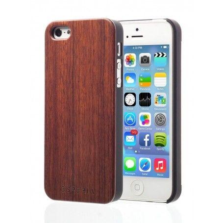 Dřevěný kryt pro Váš iPhone 5/5S je vyroben z palisandrového dřeva. Toto dřevo je známé svou tvrdostí a specificky tmavou barvou, které působí velmi elegantně.