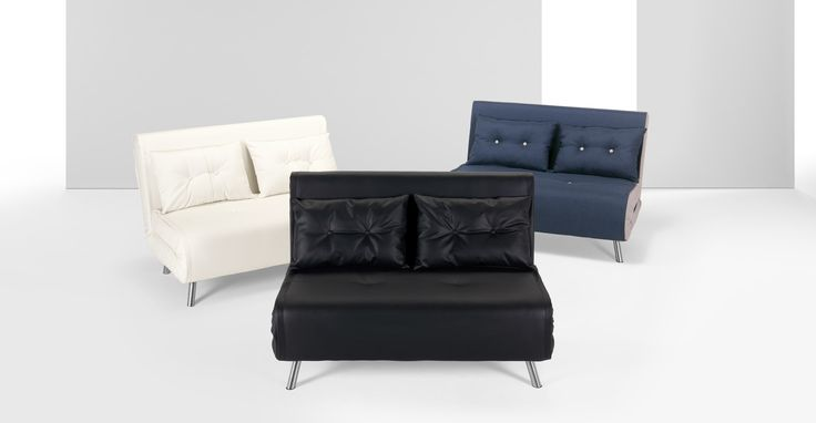 Small Double Leather Sofa Beds