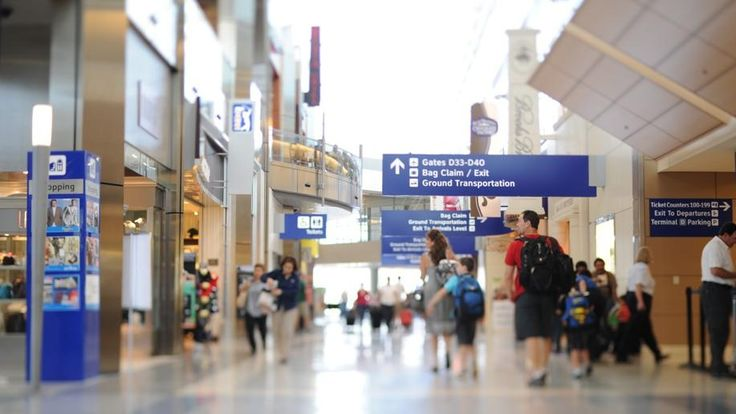 Dallas Forth Worth International Airport.