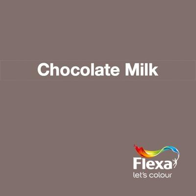 Collectie: Creations Kleur: Chocolate Milk URL: http://www.flexa.nl/nl/kleur/chocolate-milk/