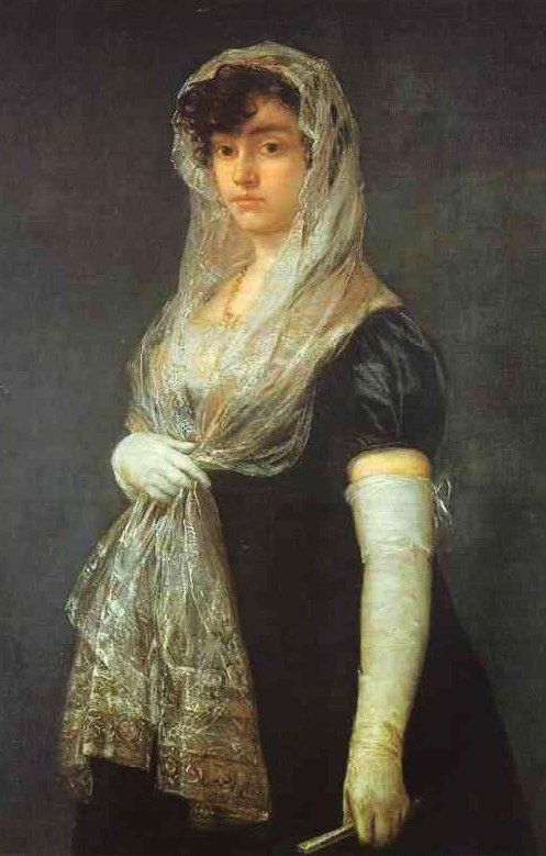 Francisco José de Goya y Lucientes (Spanish painter, 1746–1828) The Bookseller's Wife. c. 1805-08