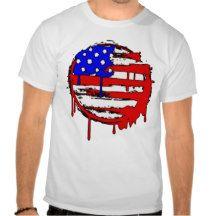 Men's American Flag Freedom For All Shirt