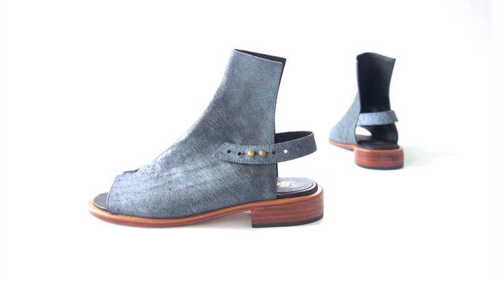 The No. 7 Sandal Antique Grey