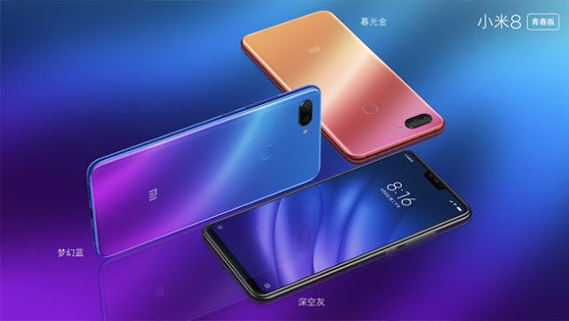 Xiaomi Mi 8 Lite And Mi 8 Pro One For Young People And Another With A Sensor Under The Screen Xiaomi Phone Galaxy
