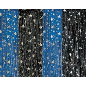 star and moon curtains for doors.