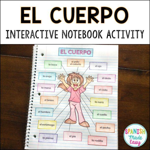 Build a body interactive activity