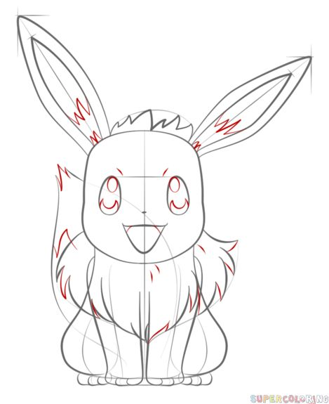 How To Draw Eevee Step By Step