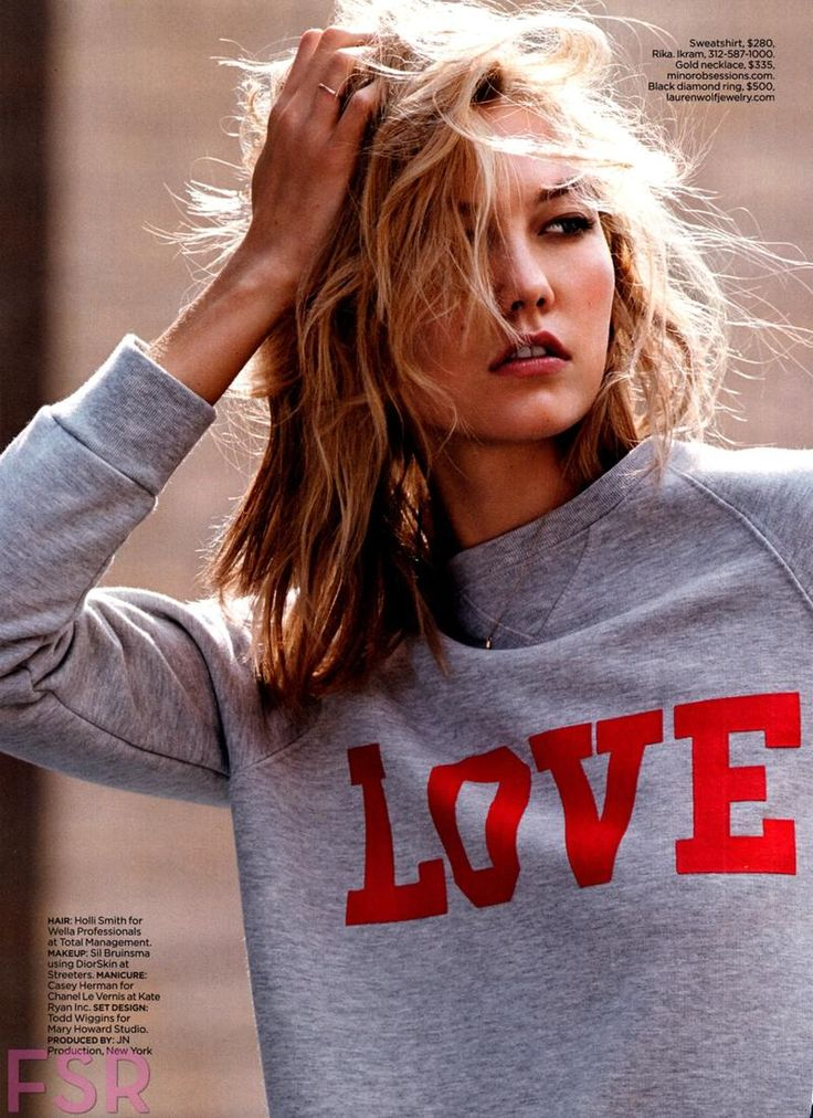 Lucky Magazine - A View From The Top with super model Karlie Kloss