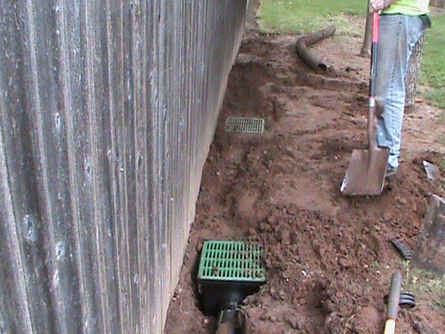 CMG Sprinklers and Drains: French Drain Info and Design, Oklahoma City, Yukon, Mustang